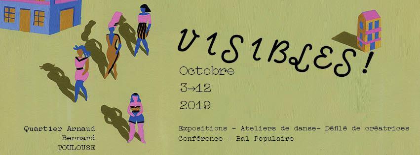 Visibles festival Maison Blanche Toulouse