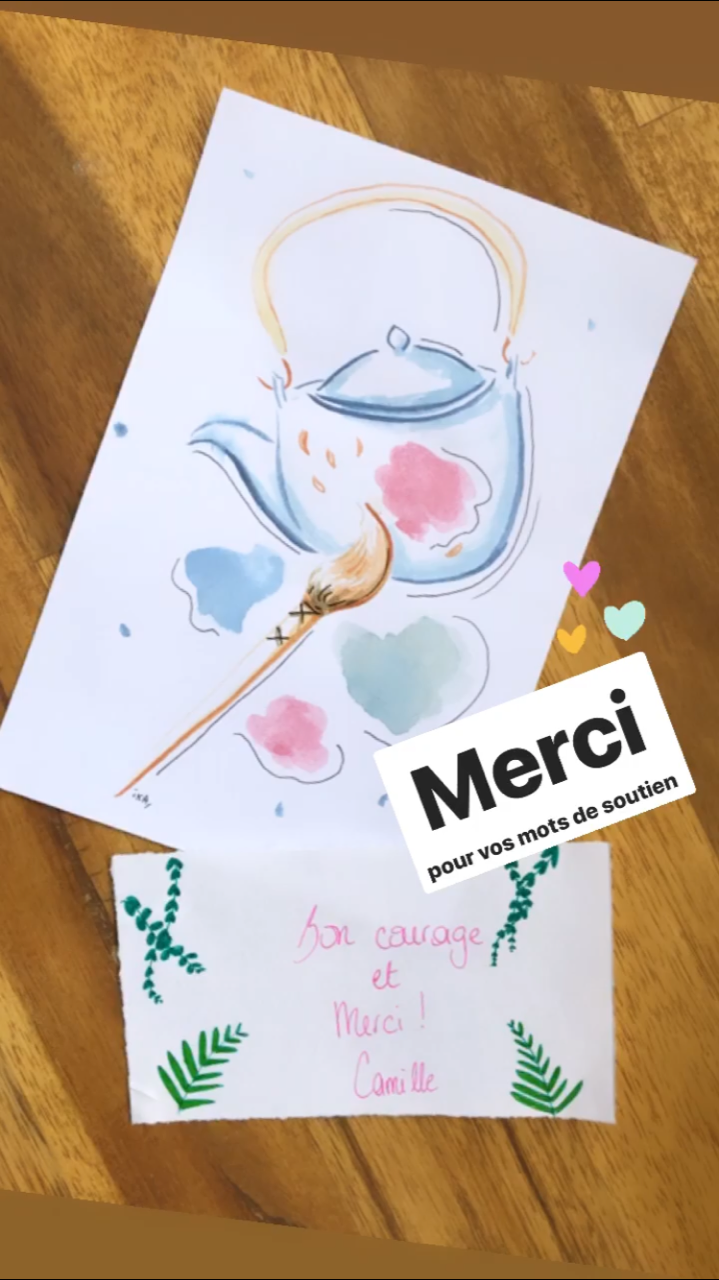 Kit maison - Thé Coul. ô café céramique - peinture